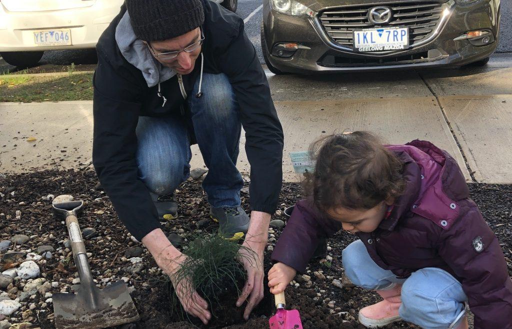 Community planting day -Indigenous Garden